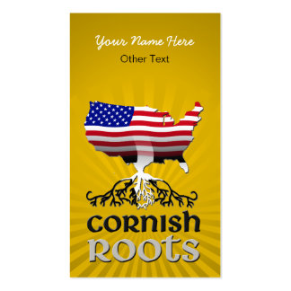 Customizable Cornish American Business Cards