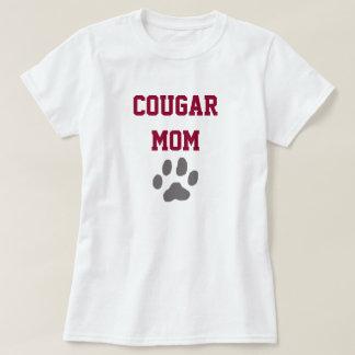 Customizable Cougar Mom Tshirt