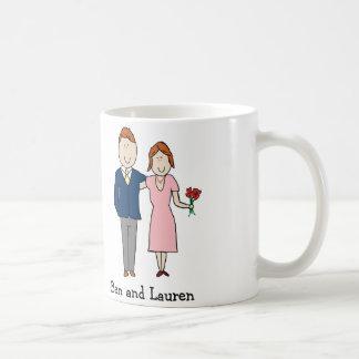 Customizable couples mug
