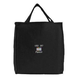 Customizable Crayon Tote Bag