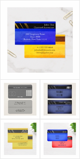 Customizable Credit-Card-Style Business Cards