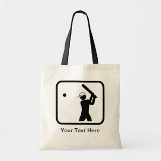 Customizable Cricket Logo Tote Bag