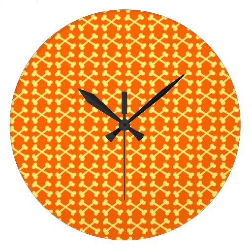 Customizable Crossbones Clocks