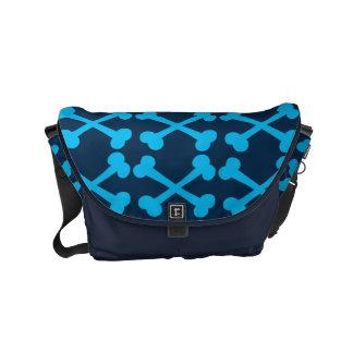 Customizable Crossbones Small Messenger Bag