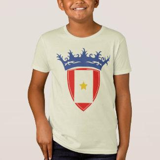 Customizable Crown 1 Yellow Star T-Shirt
