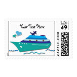 Customizable Cruise Ship Stamps