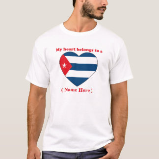 Customizable Cuba T-shirt