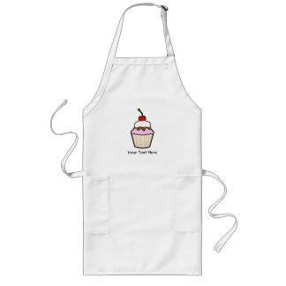 Customizable Cupcake Long Apron