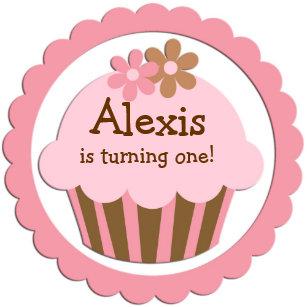 cupcake birthday invitations zazzle