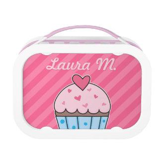 Customizable Cupcake Design with Cupcake Pattern Lunch Box