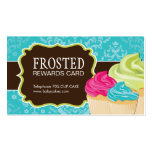 Customizable Cupcake Rewards Cards Double-Sided Standard Business Cards (Pack Of 100)
