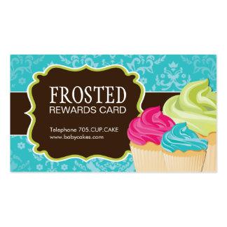 Customizable Cupcake Rewards Cards Business Card Templates