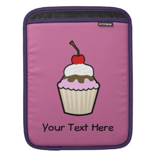 Customizable Cupcake Sleeve For iPads