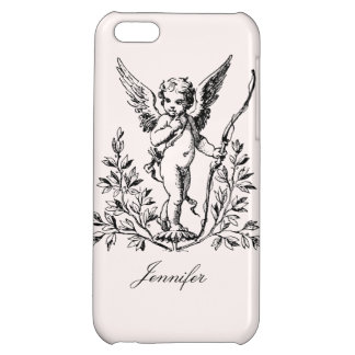 Customizable Cupid Vintage Art iPhone 5C Covers
