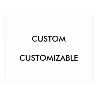 Customizable Customize Custom Blank Postcard