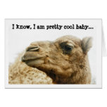 Customizable Cute Camel Photo Greeting Card