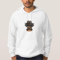 Customizable Cute Doberman Puppy Cowboy Hoodie