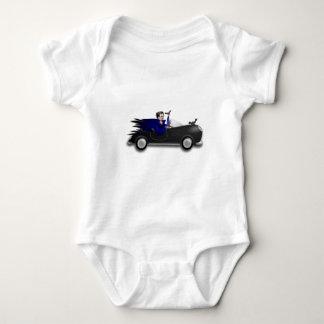 Customizable Cute Dracula Designs Baby Bodysuit