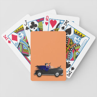 Customizable Cute Dracula Designs Bicycle Playing Cards