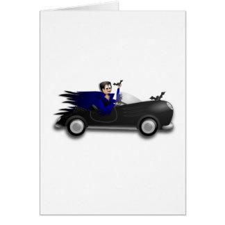Customizable Cute Dracula Designs Card