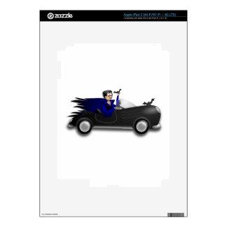 Customizable Cute Dracula Designs Decal For iPad 3