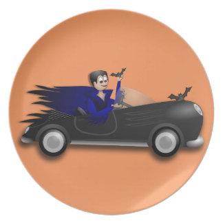 Customizable Cute Dracula Designs Dinner Plate