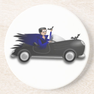 Customizable Cute Dracula Designs Drink Coaster
