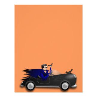 Customizable Cute Dracula Designs Letterhead