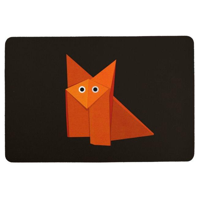 Customizable Cute Origami Fox