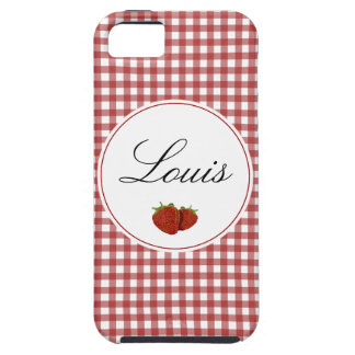 Customizable Cute Strawberry iPhone 5 Cases