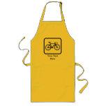 Customizable Cyclist Logo Apron