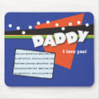 Customizable Daddy Mousepad mousepad