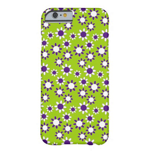 Customizable Daisies Barely There iPhone 6 Case