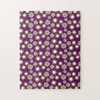Customizable Daisies Puzzles