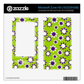 Customizable Daisies Decals For The Zune HD