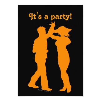 Customizable Dance Party Invitation Templates