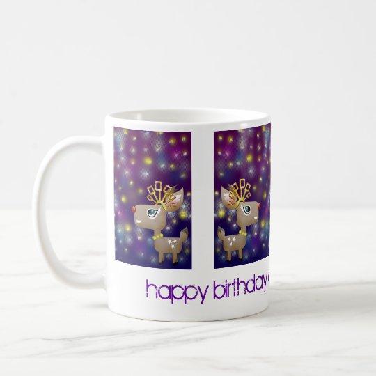 Customizable: Dancing queen deer Coffee Mug