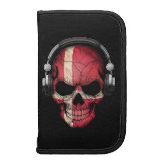 Customizable Danish Dj Skull with Headphones Planner