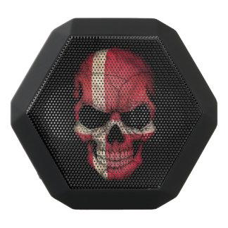 Customizable Danish Flag Skull Black Boombot Rex Bluetooth Speaker