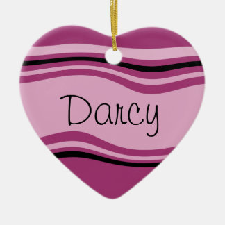 Customizable Darcy Ceramic Ornament