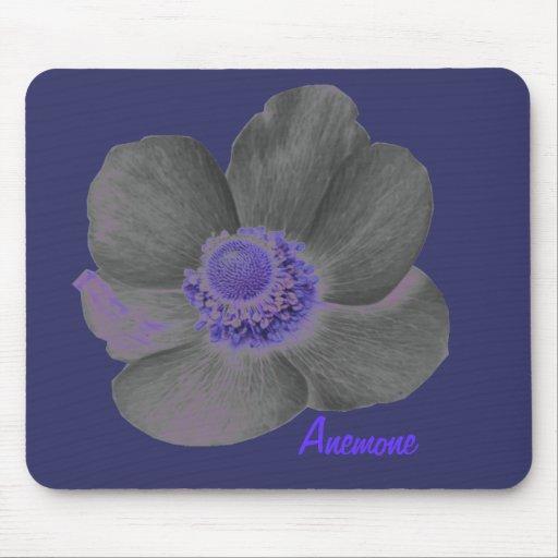 Customizable Dark Dreams Anemone Flower Mousepad