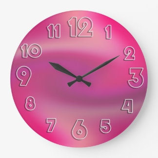 "Customizable Dawn Breeze ""Fade"" Large Clock"