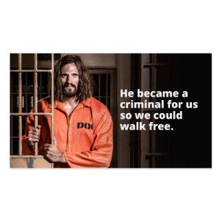 Customizable Death Row Jesus Branded Business Card