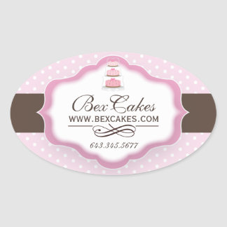Customizable Decorative Bakery Stickers