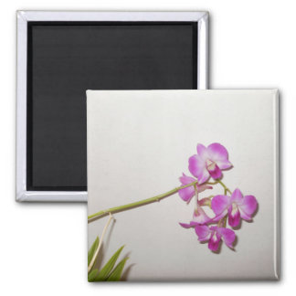 Customizable Decorative Orchid  Magnet