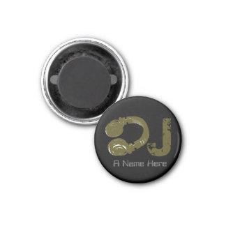 customizable DJ 1 Inch Round Magnet