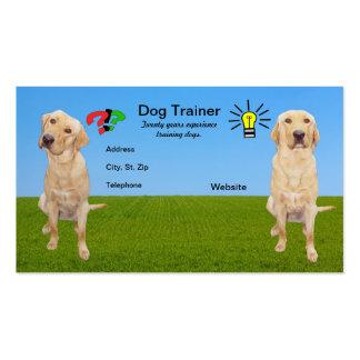 Customizable Dog Trainer Business Card
