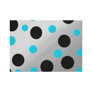 Customizable Dots On Blending Canvas Print
