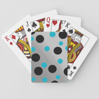 Customizable Dots On Blending Playing Cards