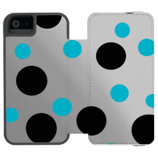 Customizable Dots On Blending Wallet Case For iPhone SE/5/5s